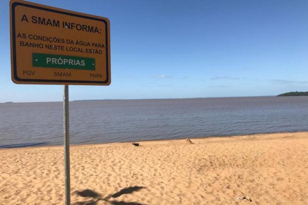 Fim de semana será de sol e calor: veja como estão as praias do Lami e Belém Novo Jeniffer Gularte/Agência RBS
