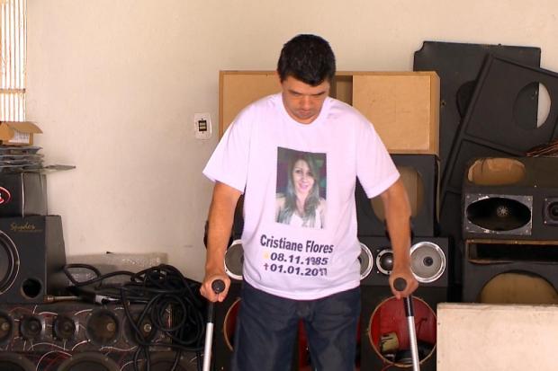 Gaúcho que perdeu as pernas em atropelamento no réveillon de Florianópolis consegue comprar próteses com doações RBS TV / Reprodução/Reprodução
