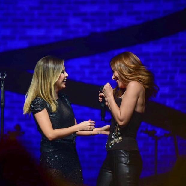 Wanessa Camargo divide o palco com Sandy em show Reprodução / Instagram/Instagram