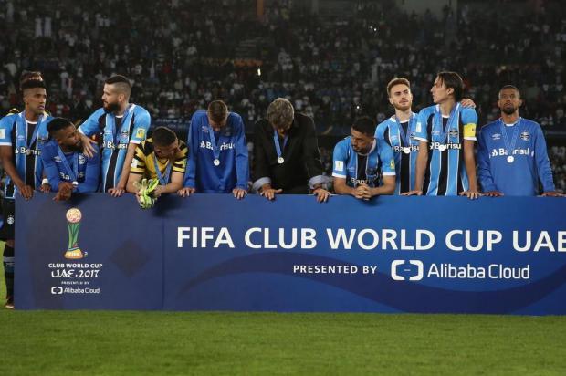 """Gustavo Manhago: """"Recebam o Grêmio com carinho"""" Jefferson Botega/Agencia RBS"""