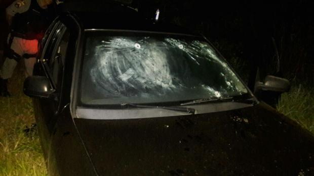 Suspeito de ataque que resultou em três mortes é preso após tiroteio com a BM Brigada Militar / Divulgação/Divulgação