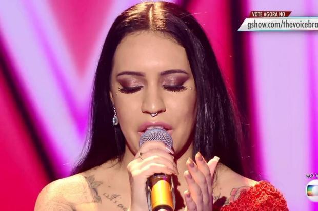 """""""The Voice Brasil"""": um ano após ser reprovada na primeira fase, Samantha Ayara é campeã do reality Gshow/Reprodução"""