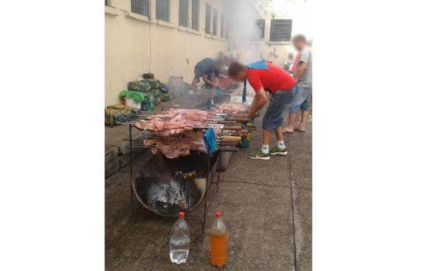 MP recomenda regras para churrascos em presídio de Santa Cruz do Sul Reprodução / WhatsApp/WhatsApp