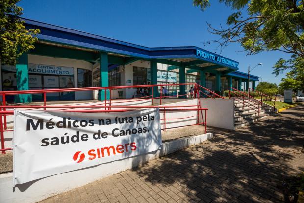 Restrição nos atendimentos no HPSC e nas UPAS Caçapava e Rio Branco continua Omar Freitas / Agência RBS/Agência RBS