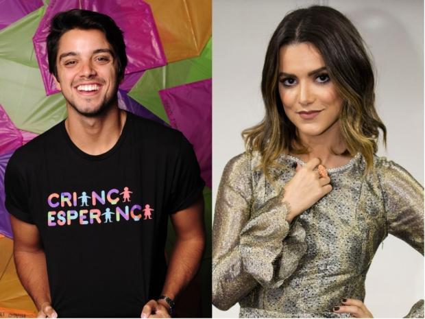 Manu Gavassi e Rodrigo Simas se beijaram no Réveillon, diz colunista TV Globo / Divulgação/Divulgação