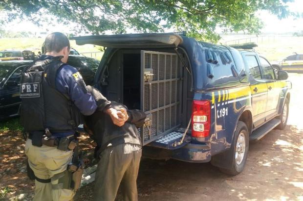 PRF prende suspeito de atirar contra agente durante abordagem em Porto Alegre Divulgação/Polícia Rodoviária Federal