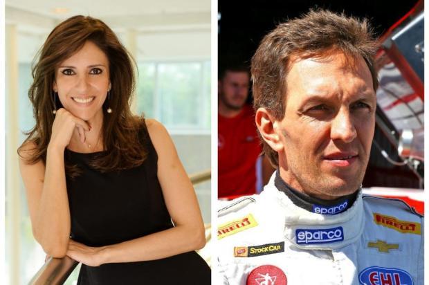 Novo casal no jornalismo, Monalisa Perrone e Luciano Burti assumem relacionamento Colagem/Reprodução