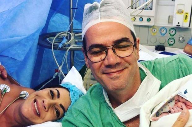 Nasce filho de Cris Silva e Paulo Inchauspe Arquivo Pessoal/Divulgação