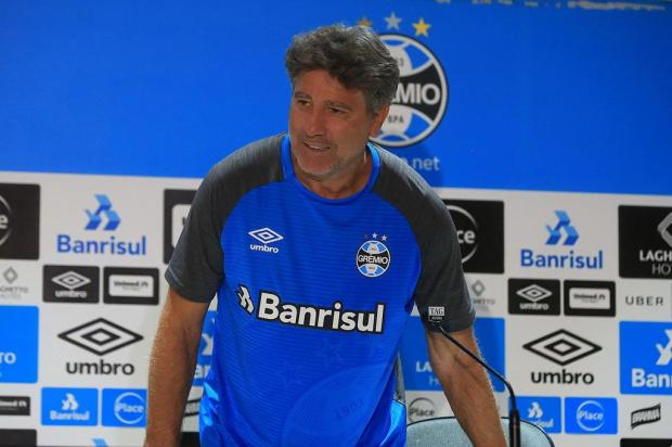 "Cacalo: ""Finalmente a estreia"" André Ávila/Agencia RBS"