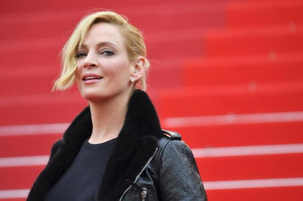 Uma Thurman acusa Harvey Weinstein de abuso sexual e Tarantino de tentar matá-la LOIC VENANCE/AFP