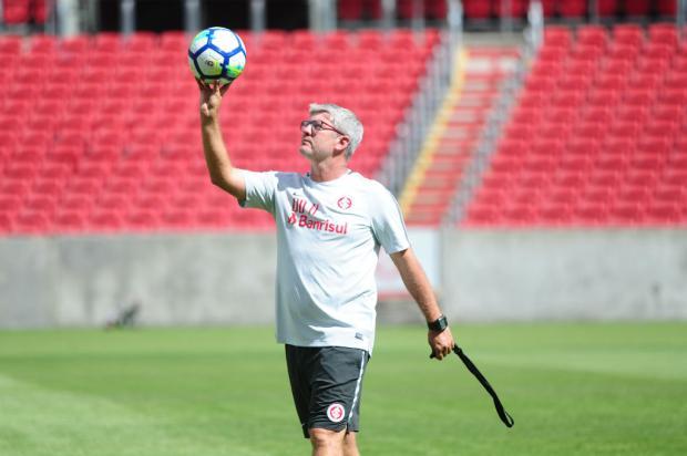 """Guilherme Becker: """"Repete o time, Odair"""" Ricardo Duarte / Inter/Divulgação/Inter/Divulgação"""