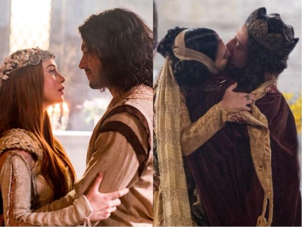 """Hoje em """"Deus Salve o Rei"""": casamentos agitam Artena e Montemor TV Globo / Divulgação/Divulgação"""