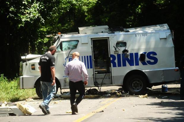 """""""O bandido se rendeu"""", relata homem que foi surpreendido por criminosos enquanto trabalhava na Serra Diogo Sallaberry/Agencia RBS"""