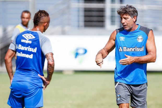 Como Renato pode armar o Grêmio para a decisão da Recopa Lucas Uebel / Agência RBS/Agência RBS