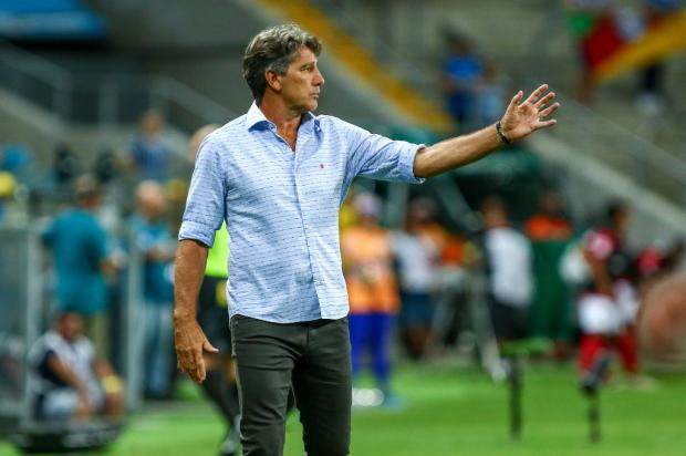 """Luciano Périco: """"Nada de folia para o grupo gremista"""" Lucas Uebel / Grêmio, Divulgação/Grêmio, Divulgação"""