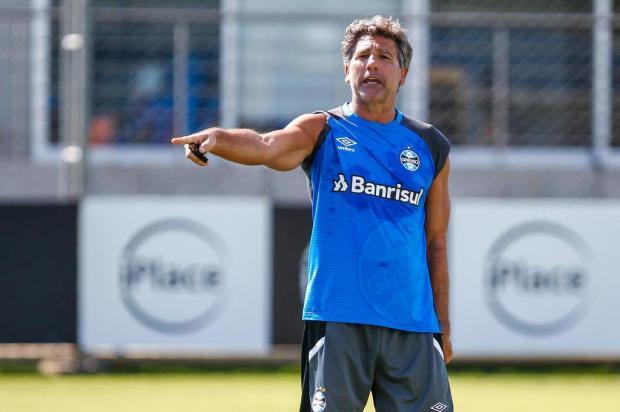 Apostando na estrela de Renato, Grêmio abre decisão contra o Independiente Lucas Uebel/Grêmio