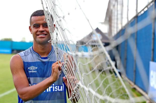 """""""Quero fazer parte desta geração vencedora do Grêmio"""", projeta Alisson Fernando Gomes/Agencia RBS"""