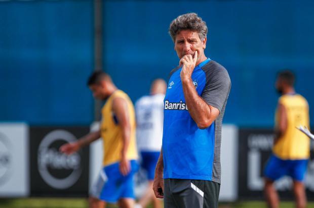 """Cacalo: """"Nesta quarta começa, verdadeiramente, a temporada"""" Lucas Uebel / Grêmio, Divulgação/Grêmio, Divulgação"""
