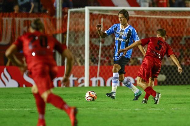 "Cacalo: ""Duelo de gigantes entre Grêmio e Independiente"" LUCAS UEBEL/GREMIO FBPA"