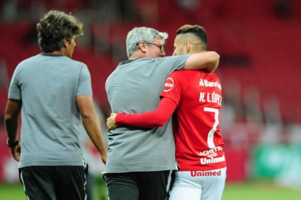 """Guilherme Becker: """"Há vida no lado esquerdo do Inter"""" Ricardo Duarte/Internacional"""