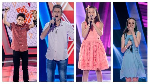 The Voice Kids chega na fase de batalhas: conheça o quarteto gaúcho do programa TV Globo / Divulgação/Divulgação