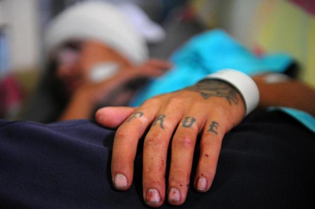 Vítima de espancamento em Caxias do Sul diz que não lembra do que aconteceu Felipe Nyland/Agencia RBS