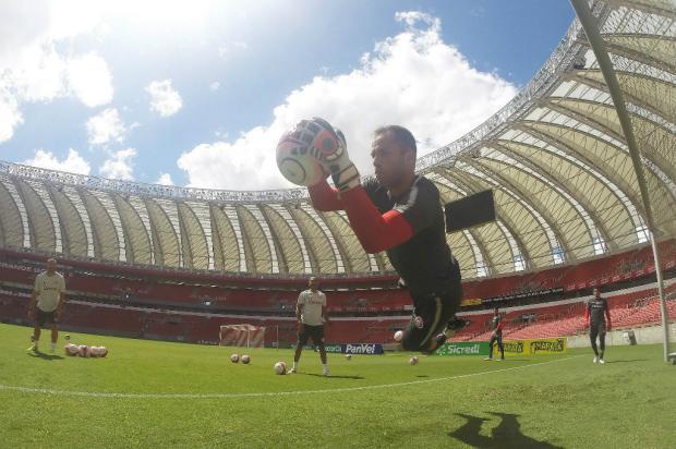 """Marcelo Carôllo: """"Lomba acima"""" Ricardo Duarte / Inter, Divulgação/Inter, Divulgação"""