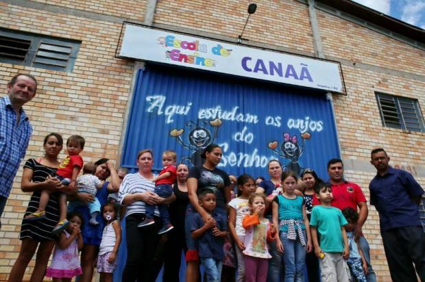 Fechamento de escola deixa mães desempregadas e prejudica74 famílias Fernando Gomes/Agencia RBS