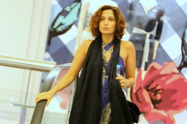 Camila Pitanga é insultada em shopping no Rio de Janeiro Thiago Martins/AgNews