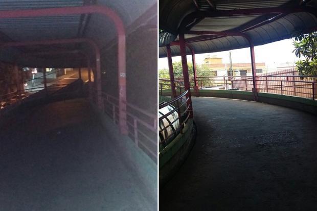 Falta de iluminação em estação do Trensurb causa insegurança entre usuários em Canoas Arquivo Pessoal / Leitor/DG/Leitor/DG