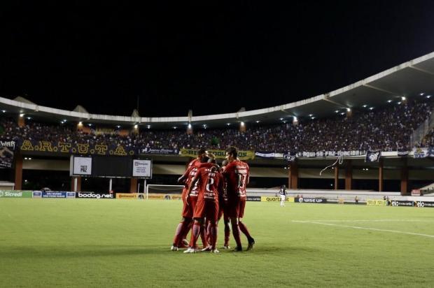 """Guilherme Becker: """"O Inter não se abateu e virou o jogo em Belém"""" Ricardo Duarte/Internacional,Divulgação"""