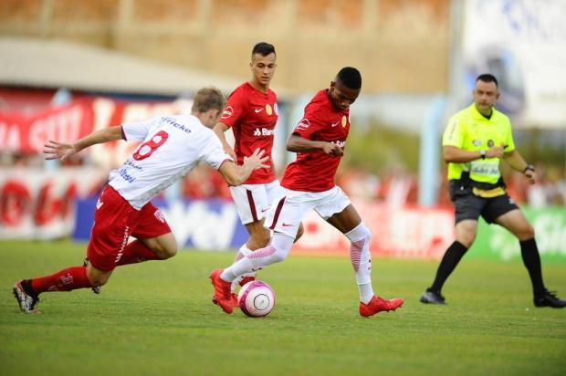 Inter fica no 0 a 0 com o São Luiz no Estádio do Vale Lauro Alves/Agencia RBS