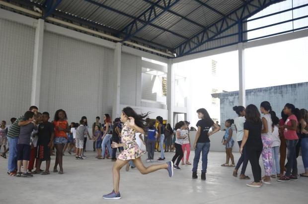 Escola da Lomba do Pinheiro tem o primeiro recreio em sete anos Anselmo Cunha/Agência RBS