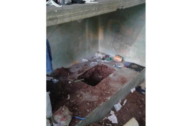 Incêndio durante rebelião deixa detento morto em presídio de Palmeira das Missões Brigada Militar/Divulgação