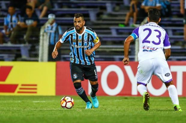 """Guerrinha: """"Estreia capenga do Grêmio"""" LUCAS UEBEL/GREMIO FBPA"""