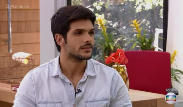 """Eliminado do BBB, Lucas desabafa com Ana Maria Braga: """"Eu me senti traído comigo mesmo"""" TV Globo / Reprodução/Reprodução"""