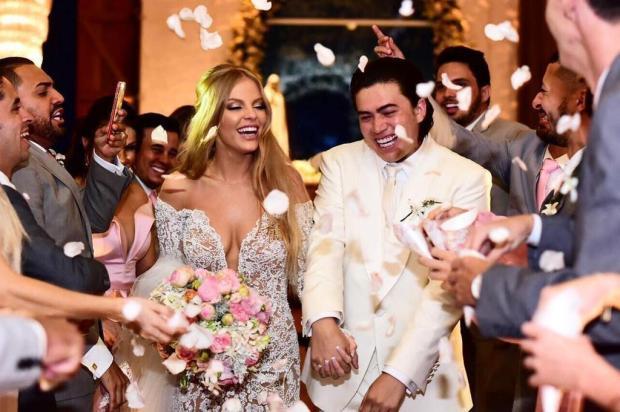 Joias de R$ 200 mil e DJ Alok como atração: Whindersson Nunes e gaúcha Luisa Sonza se casam em Alagoas Instagram/Reprodução