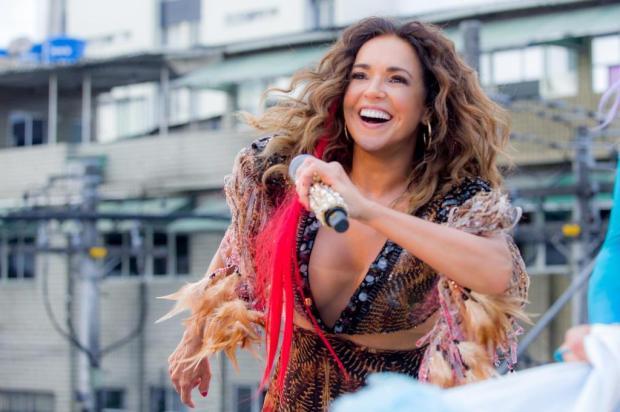 """""""O Rio Grande do Sul é parecido com a Bahia"""", diz Daniela Mercury, que faz show em Torres, neste sábado Celia Santos/Divulgação"""
