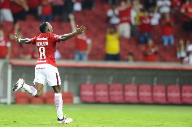 "Guerrinha: ""Mesmo com seca dos atacantes, Inter consegue marcar gols"" Carlos Macedo / Agência RBS/Agência RBS"
