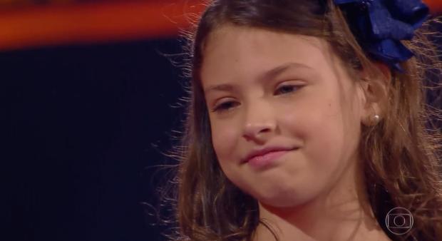 """Gauchinha é eliminada no último dia de batalhas do """"The Voice Kids"""" TV Globo / Reprodução/Reprodução"""