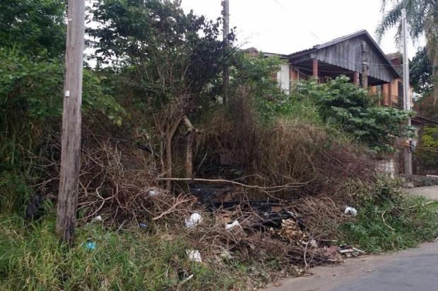 Terreno baldio em Alvorada vira lixão irregular e moradores cobram limpeza da prefeitura Arquivo Pessoal / Leitor/DG/Leitor/DG