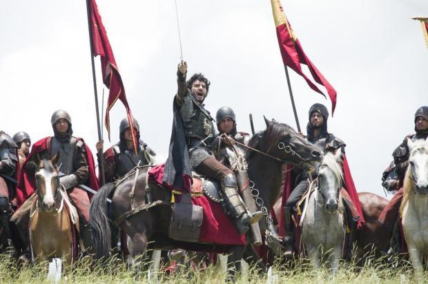 """""""Deus Salve o Rei"""": saiba como foram feitas as cenas da grande batalha entre os reinos Cesar Alves/Globo"""