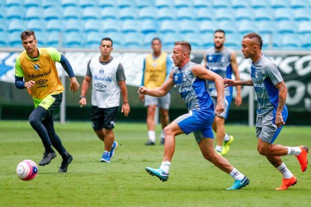 Após 98 dias fora, Arthur é o grande reforço do Grêmio contra o São Paulo-RG Lucas Uebel / Divulgação Grêmio/Divulgação Grêmio