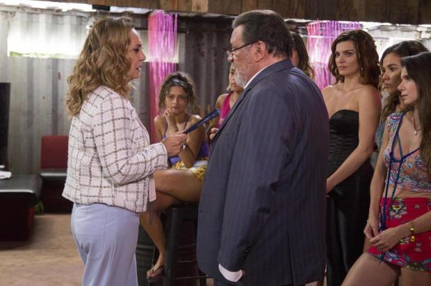 """""""O Outro Lado do Paraíso"""": saiba como será a cena em que Nádia flagra Gustavo no bordel Marilia Cabral/TV Globo/Divulgação"""
