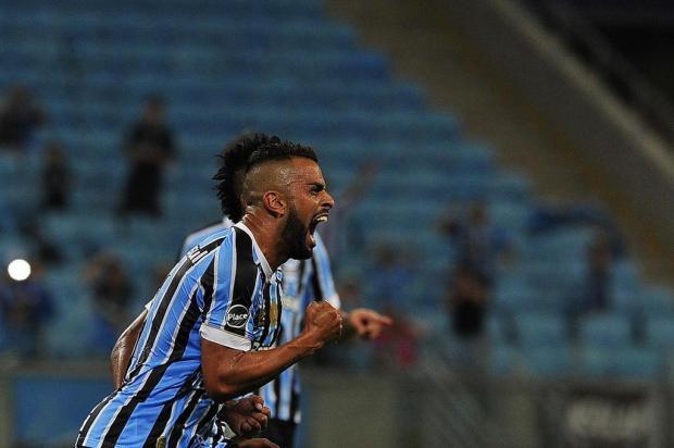 Com gol de Maicon, Grêmio vence São Paulo-RG por 1 a 0 Mateus Bruxel/Agencia RBS