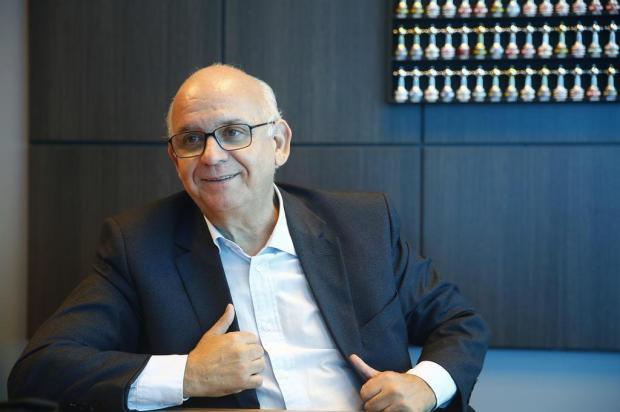 """Cacalo: """"Grêmio dá uma demonstração inequívoca de excelência em administração"""" Isadora Neumann/Agência RBS"""