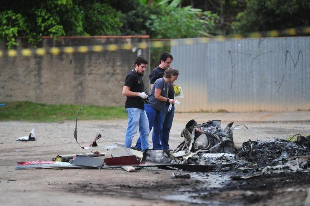 Identificado um dos suspeitos de ter sequestrado helicóptero que caiu em Santa Catarina Salmo Duarte/A Notícia