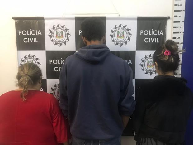 Mulher é presa por forjar o próprio sequestro e o da filha em Caxias do Sul Polícia Civil / Divulgação/Divulgação