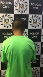 Polícia Civil prende acusado de abusar sexualmente da sobrinha e enteada em Porto Alegre Polícia Civil / Divulgação /