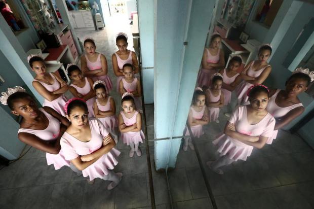 Aulas de balé em projeto social de Alvorada estão ameaçadas Carlos Macedo/Agencia RBS